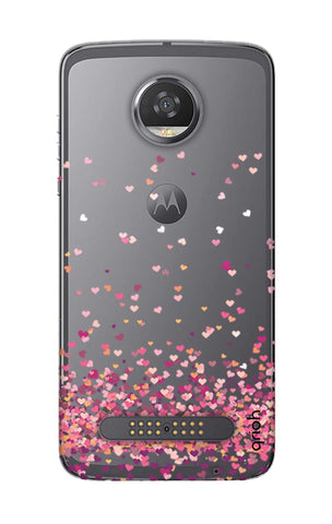 Cluster Of Hearts Motorola Moto Z2 Play Cases & Covers Online