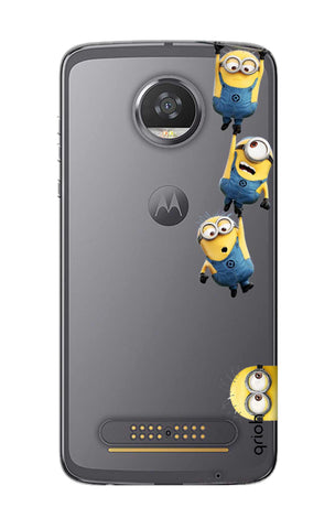Falling Minions Motorola Moto Z2 Play Cases & Covers Online