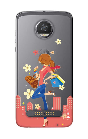 Shopping Girl Motorola Moto Z2 Play Cases & Covers Online