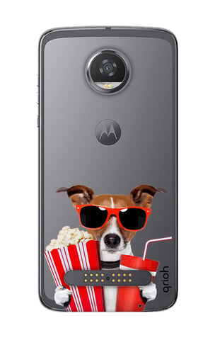 Dog Watching 3D Movie Motorola Moto Z2 Play Cases & Covers Online