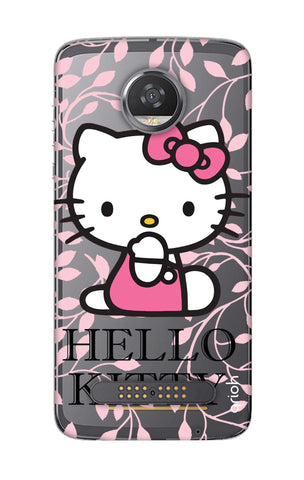Hello Kitty Floral Motorola Moto Z2 Play Cases & Covers Online