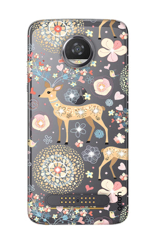 Bling Deer Motorola Moto Z2 Play Cases & Covers Online