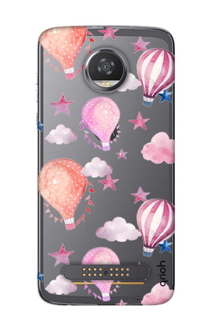 Flying Balloons Motorola Moto Z2 Play Cases & Covers Online