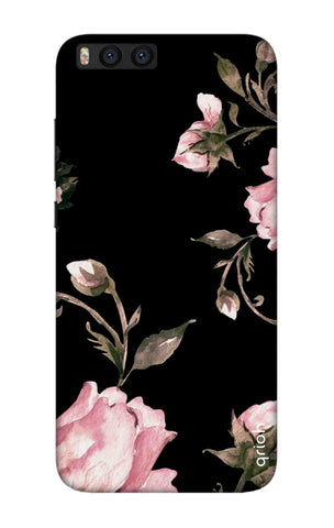 Pink Roses On Black Xiaomi Mi Note 3 Cases & Covers Online