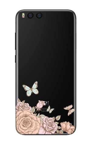 Flower And Butterfly Xiaomi Mi Note 3 Cases & Covers Online