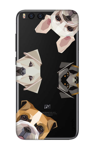 Geometric Dogs Xiaomi Mi Note 3 Cases & Covers Online