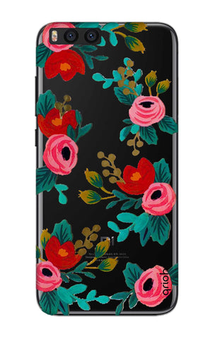 Red Floral Xiaomi Mi Note 3 Cases & Covers Online