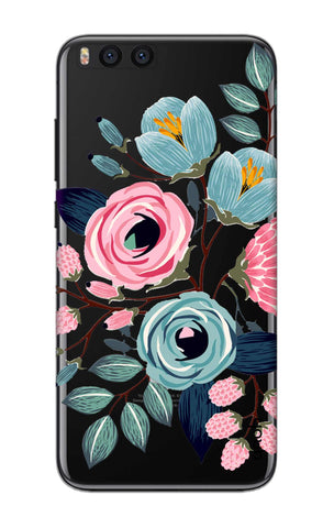 Pink And Blue Floral Xiaomi Mi Note 3 Cases & Covers Online