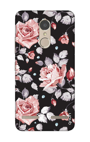 Shabby Chic Floral Lenovo K6 Power Cases & Covers Online