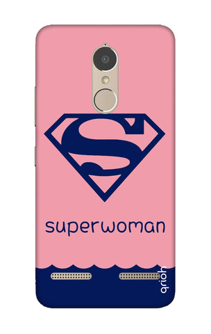 Be a Superwoman Lenovo K6 Power Cases & Covers Online