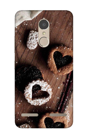 Heart Cookies Lenovo K6 Power Cases & Covers Online
