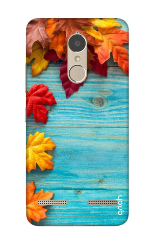 Fall Into Autumn Lenovo K6 Power Cases & Covers Online