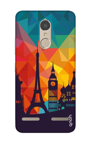 Wonders Of World Lenovo K6 Power Cases & Covers Online