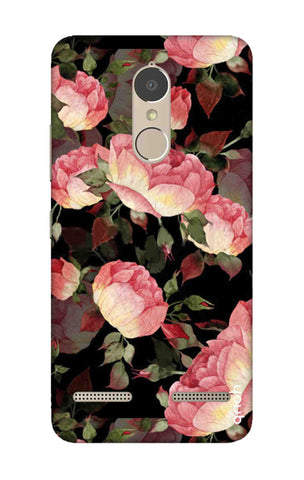 Watercolor Roses Lenovo K6 Power Cases & Covers Online