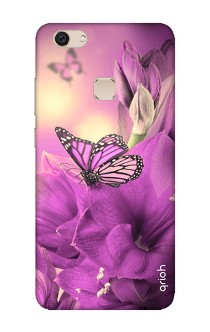 Purple Butterfly Vivo V7 Plus Cases & Covers Online
