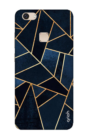 Abstract Navy Vivo V7 Plus Cases & Covers Online