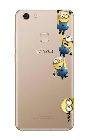 Falling Minions Vivo V7 Plus Cases & Covers Online