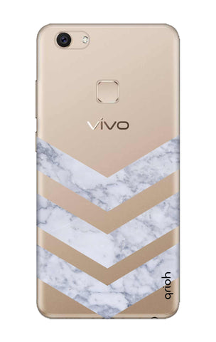 Marble Chevron Vivo V7 Plus Cases & Covers Online