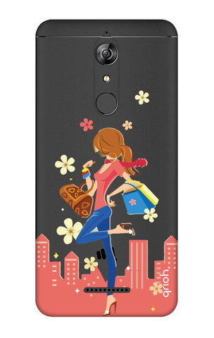Shopping Girl Micromax Canvas Infinity Cases & Covers Online