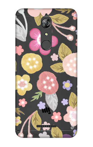 Multi Coloured Bling Floral Micromax Canvas Infinity Cases & Covers Online