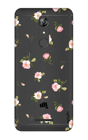 Pink Rose All Over Micromax Canvas Infinity Cases & Covers Online