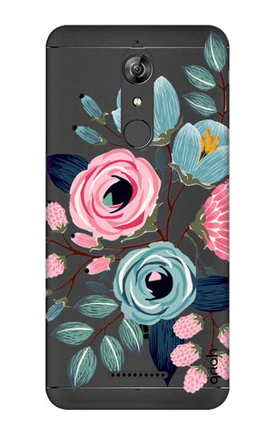 Pink And Blue Floral Micromax Canvas Infinity Cases & Covers Online