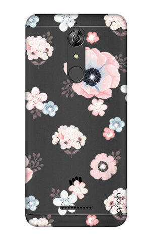 Beautiful White Floral Micromax Canvas Infinity Cases & Covers Online