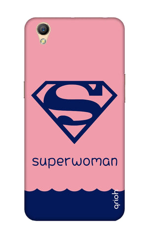 Be a Superwoman Oppo A37 Cases & Covers Online
