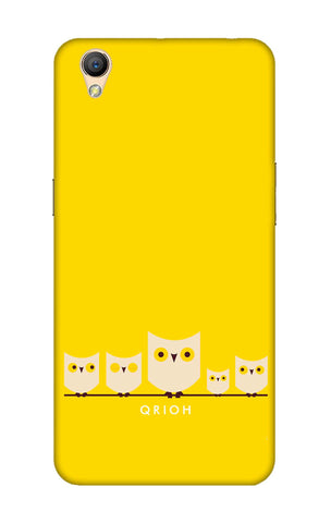 Owl Family Oppo A37 Cases & Covers Online