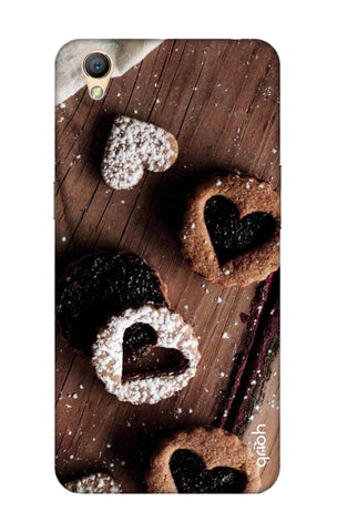 Heart Cookies Oppo A37 Cases & Covers Online