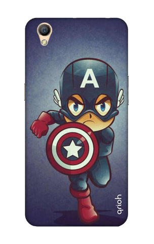 Toy Capt America Oppo A37 Cases & Covers Online