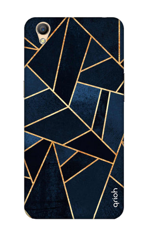 Abstract Navy Oppo A37 Cases & Covers Online