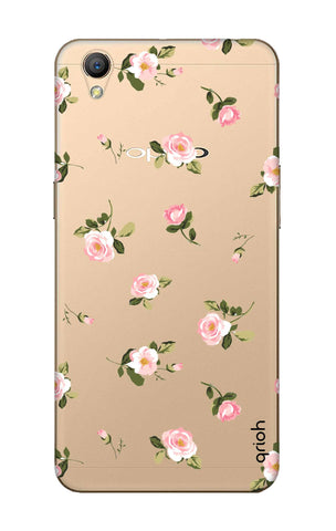 Pink Rose All Over Oppo A37 Cases & Covers Online