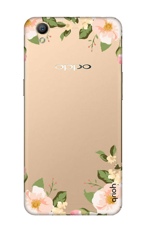 Flower In Corner Oppo A37 Cases & Covers Online