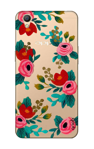 Red Floral Oppo A37 Cases & Covers Online
