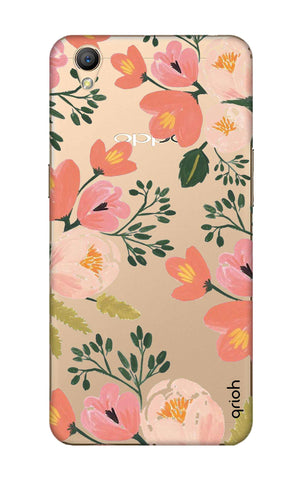 Painted Flora Oppo A37 Cases & Covers Online