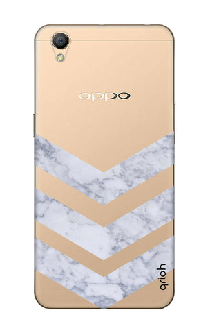 Marble Chevron Oppo A37 Cases & Covers Online