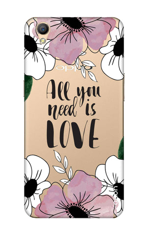 All You Need is Love Oppo A37 Cases & Covers Online