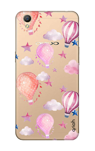 Flying Balloons Oppo A37 Cases & Covers Online