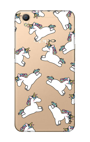 Jumping Unicorns Oppo A37 Cases & Covers Online