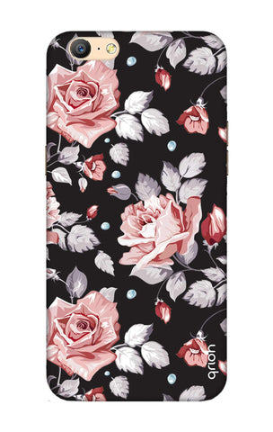 Shabby Chic Floral Oppo A57 Cases & Covers Online