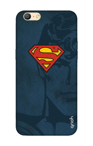 Wild Blue Superman Oppo A57 Cases & Covers Online