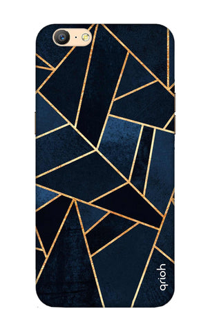 Abstract Navy Oppo A57 Cases & Covers Online