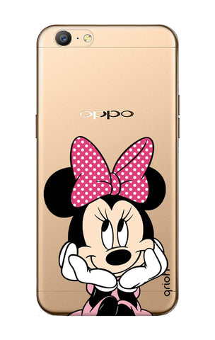 Minnie In Deep Thinking Oppo A57 Cases & Covers Online