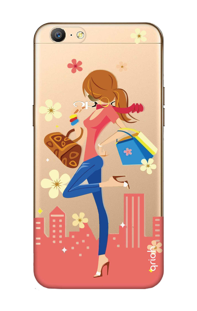new style 41a3a 337a5 Shopping Girl Case for Oppo A57