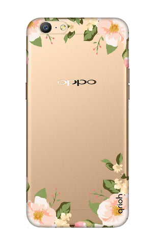 Flower In Corner Oppo A57 Cases & Covers Online