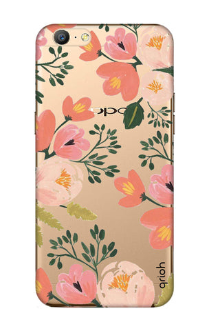 Painted Flora Oppo A57 Cases & Covers Online