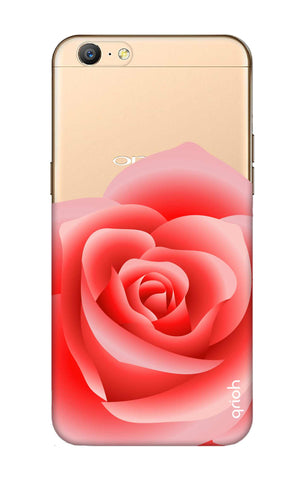 Peach Rose Oppo A57 Cases & Covers Online