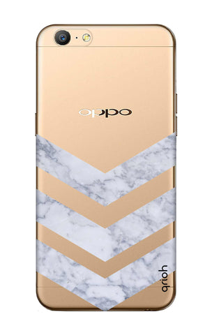 Marble Chevron Oppo A57 Cases & Covers Online