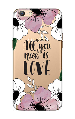 All You Need is Love Oppo A57 Cases & Covers Online
